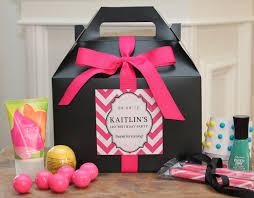 16th Birthday Party Ideas For Home Set Of 8 Teen Party Favor Box Sweet 16 Party Favor Box Bat