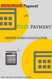Formula Credit Card Minimum Payment This Free Credit Card Interest Rate Calculator Will