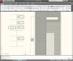 Autocad For Kitchen Design Displaying The Hatch Area With A Field In Autocad
