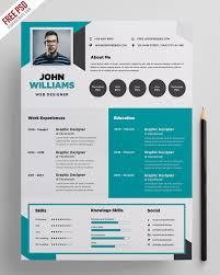 creative resume template free download psd wedding free creative resume template psd psdfreebies com