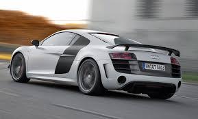 Audi R8 Grey - 2012 suzuka grey audi r8 gt driving 3q rear eurocar news