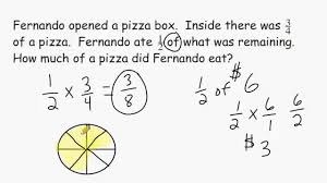 math problem fractions fraction multiplication word problems