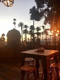 fairmont miramar hotel u0026 bungalows sunset terrace partyslate