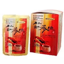 Minuman Ginseng Korea sari ginseng merah korea 30sachet lazada indonesia