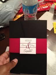 Red And Black Wedding Invitations Diy Wedding Invitations Weddingbee