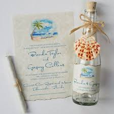 wedding invitations in a bottle wedding invitations glass bottles