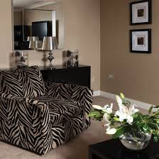 Decorating With Animal Prints Decorating Ideal Home - Animal print decorations for living room