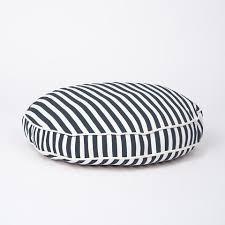 Medium Sized Dog Beds Waggo Designer Striped Dog Beds Monogrammed Dog Beds Waggo