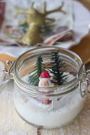 table ornaments for made with glass jars
