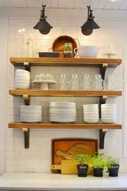 Kitchen Shelf Ideas 15 Great Design Ideas For Your Kitchen Rustic Shelving Kitchen