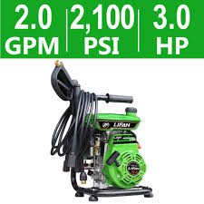 lifan 2 100 psi 2 0 gpm ar axial cam pump recoil start gas