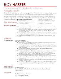 Pharmacist Resume Examples Pharmacist Resume Sample 2017 Pharmacist Resume Example Sample