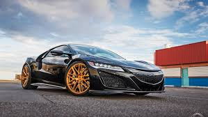 custom honda nsx acura nsx is ready for a night out with vossen u0027s custom shoes