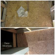 Vapor Barrier In Bathroom Working With Dricore Subfloor In A Basement Decor Adventures