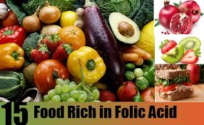 know the different foods containing folic acid healthy beauty links