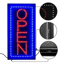 shop open sign lights new advertising light high bright neon open sign flashing l door