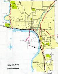 Sioux Falls Map Interstate Guide Interstate 129 Iowa Nebraska