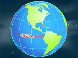 World Map Equator by Equator Nasa
