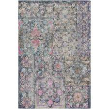 bungalow rose knowland hand tufted bright pink blush area rug