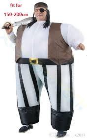 Inflatable Costume Halloween Halloween Kids Cosplay Pirate Inflatable Costume Onesie Bar