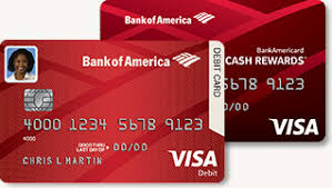 debit card for credit and debit card security from bank of america