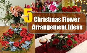 christmas arrangement ideas christmas flower arrangement ideas different types of christmas