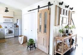 barn door for kitchen cabinets plum pretty decor design co how to install barn door
