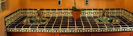 mexican tile all southwest porcelain bathroom accessories in one