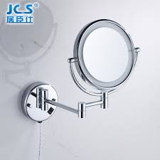 wall thin double sided tape led lights all copper mirror bathroom