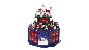 lighted santa s workshop advent calendar top 10 best wooden advent calendars 2017 heavy com