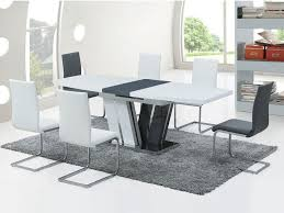 D Coratif Table A Manger D Coratif Table A Manger Blanc Laqu 177113 Chaise à Eliptyk