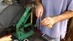 craftsman 48250 homemade sanding belts for harbor freight belt sander youtube