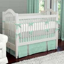 Mini Crib Sheet Tutorial by Mint Herringbone Baby Crib Bedding Herringbone Nursery And Babies