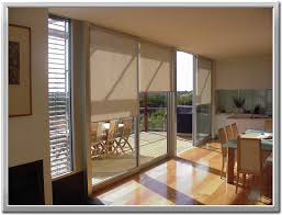 decor window treatment ideas for sliding glass doors breakfast