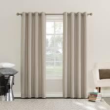 sun zero emden room darkening triple lined grommet curtain panel