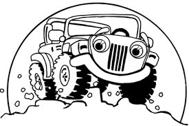 cartoon jeep drawings cartoon illustrations clip art library