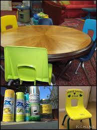 Dr Seuss Furniture For Sale by Repaint Little Plastic Chairs For New Look Must Use Primer I