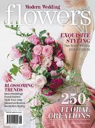 wedding flowers magazine modern wedding flowers vol 19 modern wedding magazines