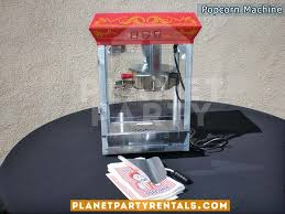 party rentals san fernando valley popcorn machine 8 oz