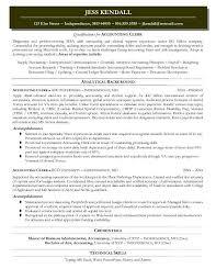 Billing Clerk Resume Sample by Dignityofrisk Com Page 30 Sample Resume Of Accounting Clerk