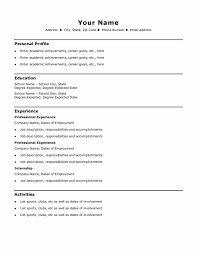 Resume Format Download Best by Download Best Best One Page Resume Template One Page Resume Free