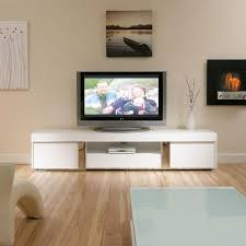 large television cabinet entertainment unit centre white gloss 2 2