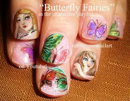 robin moses nail art butterfly nails