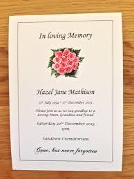 funeral invitations thebridgesummit co