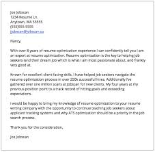 Resume In Applying A Job by Cover Letter Examples Jobscan