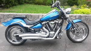 2008 yamaha raider blue motorcycles for sale