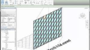 Revit Curtain Panel Revit Tutorial The Revit Kid Rotate Curtain Wall Grids