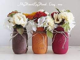 best 25 jar thanksgiving centerpieces ideas on