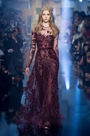 robe de mariã e pin up défilé elie saab automne hiver 2015 2016 haute couture