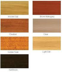 light brown paint color chart wood treatments colour chart